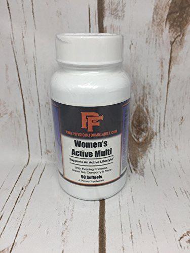 Physique Formula Women's Multi Vitamin- Cutting Edge Multi Vitamin For Active Women