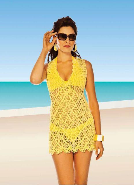 Crotchet Swimsuit CoverUp Pattern