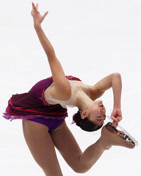 フィギュアスケート、グランプリ(GP)シリーズ第3戦の中国杯、女子ショートプログラム(SP)の演技を披露する米国の長洲未来(北京)(2010年11月05日) 【EPA=時事】 ▼5Nov2010時事通信|しなやか プレミアム写真館 2010年11月 http://www.jiji.com/jc/pp?d=pp_2010&p=201011-photo05 #Mirai_Nagasu #Mirai_Aileen_Nagasu