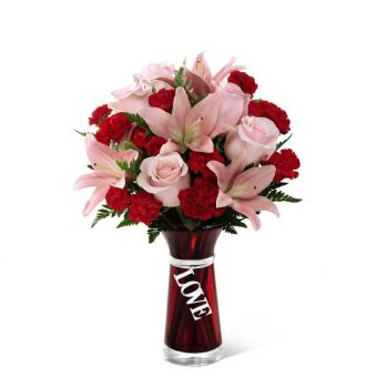 #bowmanvilleflowers #valentinesday #giftideas #roses #red #love #sparkleroses #chocolatecoveredstrawberries #teddy #bear The FTD® Hold My Heart™ Bouquet | Bowmanville, Courtice, Newcastle, Oshawa, Whitby Flower Delivery