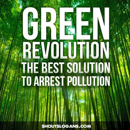 Encourage others to join you in going green.