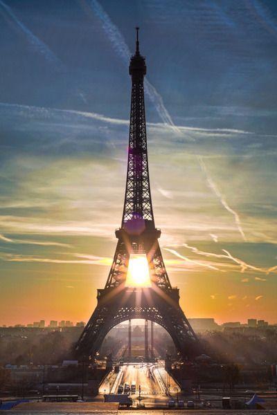 Paris, perfect timing.