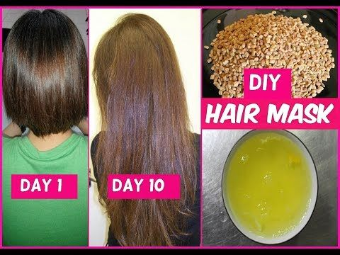 DIY Hair Mask for Long Hair Growth in 1 Week - YouTube