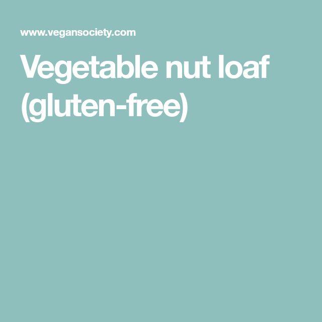 Vegetable nut loaf (gluten-free)