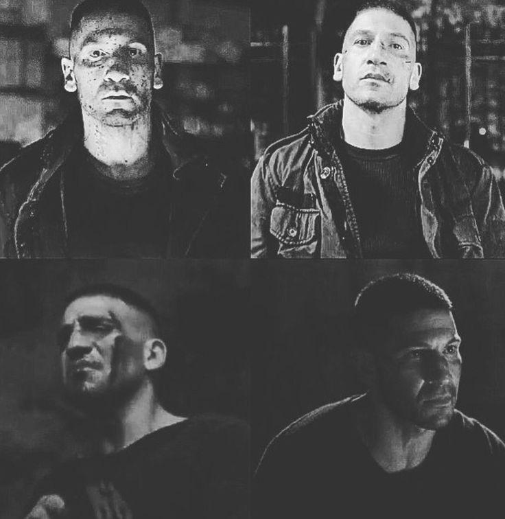 Jon Bernthal as the Punisher season 2 Daredevil
