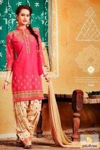 Pretty Pink Color Patiala Punjabi Dress for Engagement Black Color Party Wear Punjbai Salwar Kameez #salwarsuit, #punjabisuit more: http://www.pavitraa.in/catalogs/designer-punjabi-suits-for-party/?utm_source=rn&utm_medium=pinterestpost&utm_campaign=15jun