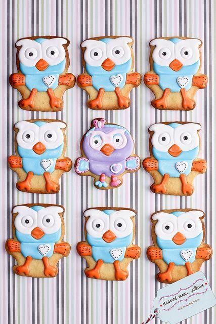 Hilarious Owl Cookies (Dessert Menu, Please)