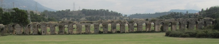 The Roman Aqueducts are an impressive testimony of the wonders of functional architecture. The roman Aqueducts are water supplies systems that transported water to cities and other small towns. The Aqueducts while they were water supply channels, many of them had tunnels , siphons, basins and drop shafts. Also, some of these water systems served as sewage systems making cities and towns safe from contaminated water. other sources: http://www.romaq.org…
