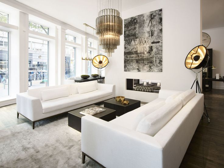 RH Modern is very chic. See the complete collection here: