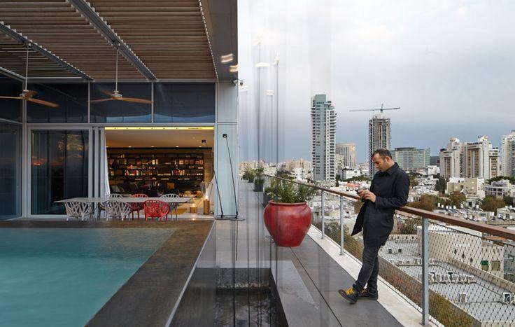 Pitsou Kedem Architect, Amit Geron · Penthouse in Tel Aviv · Divisare
