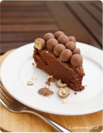 Gâteau au chocolat Cyril Lignac