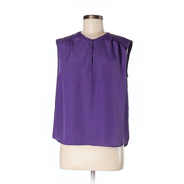 Collective Concepts Short Sleeve Blouse (375 EGP) ❤ liked on Polyvore featuring tops, blouses, purple, short-sleeve blouse, short sleeve tops, purple top, purple blouse and collective concepts