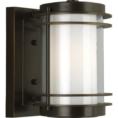 progress lighting penfield outdoor wall sconce in oil rubbed bronze size small find this pin and more on outdoor light fixtures