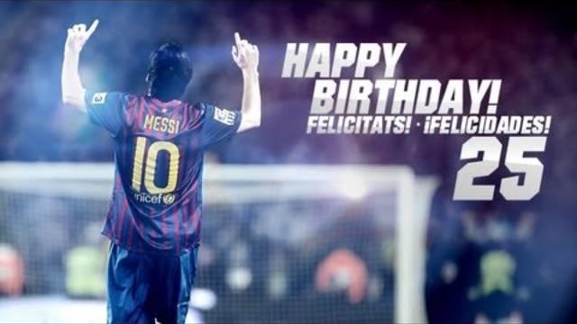FC Barcelone : Bon anniversaire Messi !