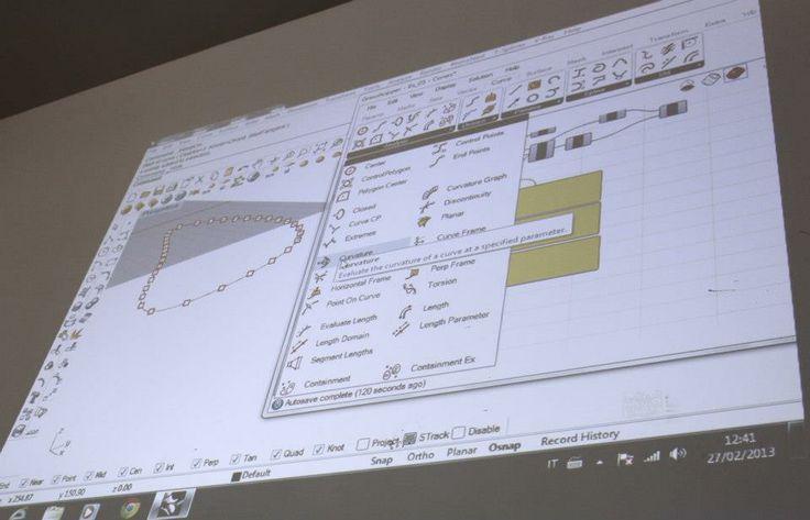 Workshop sulla progettazione parametrica e la fabbricazione digitale. Organizzato da Medaarch & Tekla srl www.medaarch.com - info@medaarch.com #workshop #smart #surfaces #fablab #projects #ideas #fabrication #objects #manufacturing #make #design #architecture