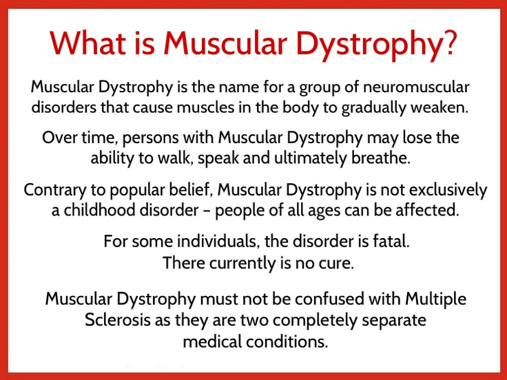 All about muscular dystrophy