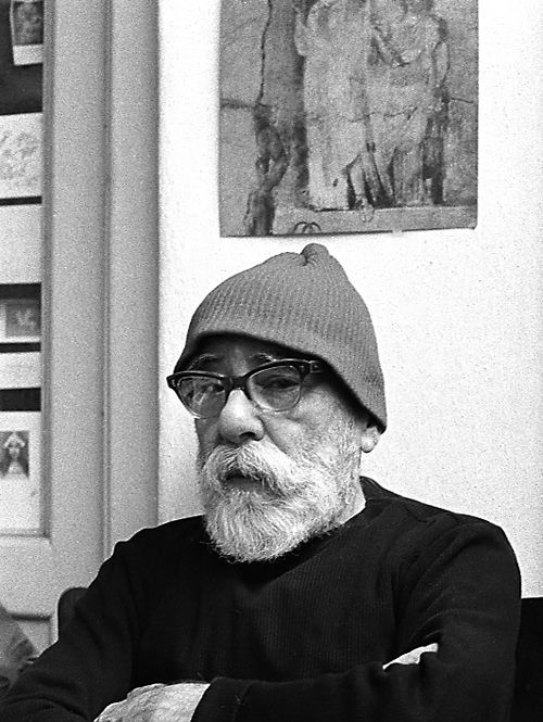 Karel Kuklík, portrét Jana Zrzavého, 60. léta