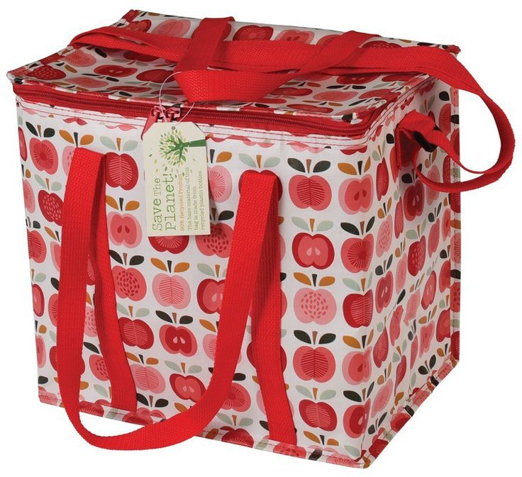 Recycled Picnic Bag - Vintage Apple - Natural Collection Select