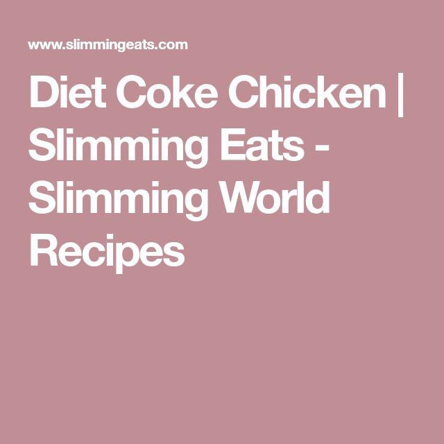 Diet Coke Chicken   Slimming Eats - Slimming World Recipes