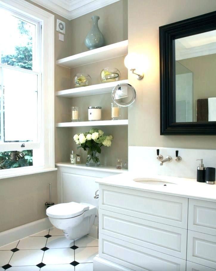 Bathroom floating shelves above toilet  thisnthat    Home decor videos ikea fi   – Bathroom Decore