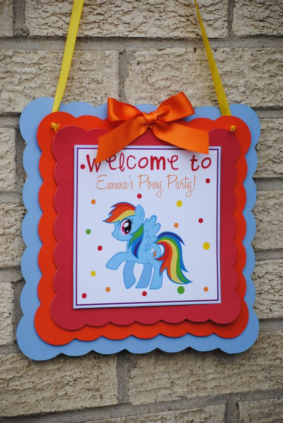 Hey, I found this really awesome Etsy listing at http://www.etsy.com/listing/168025406/new-rainbow-dash-door-sign