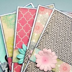 Follow this simple formula for beautiful handmade cards that make great gifts too!
