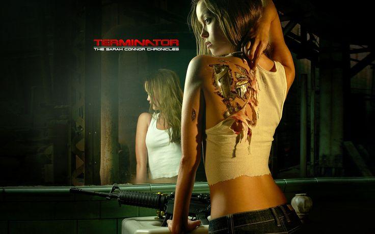 Summer Glau, Terminator, chica robot Fondos de pantalla