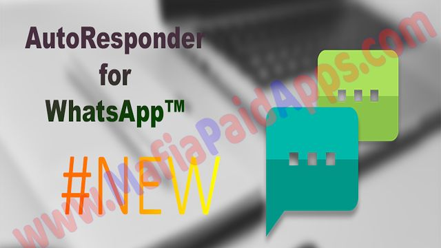 AutoResponder for WhatsApp v0.6.4 [Pro] Apk for android    Automatically reply to custom received WhatsApp messages with the help of this app. You have a lot of settings to customize the bot for your needs. Just try it out!  Are you sometimes not next to your phone but want to reply to WhatsApp messages? AutoResponder for WhatsApp does this job for you. It will automatically respond to predefined messages which contain some words or equal a message. You can set custom responses for different…