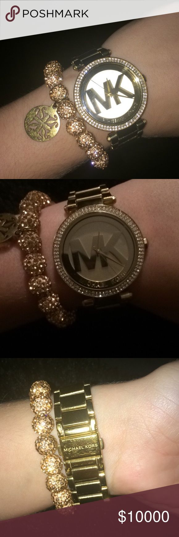 will only trade not for sale will only trade for a big bundle of VS stuff, Hunter boots, Patagonia vest in birch white, Dark grey Kate spade or MK, maroon Kate spade or mk, or Tory burch sandals. thanks Michael Kors Accessories Watches