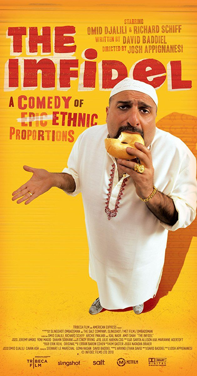 Directed by Josh Appignanesi.  With Omid Djalili, Richard Schiff, Archie Panjabi, Igal Naor. An identity crisis comedy centred on Mahmud Nasir, successful business owner, and salt of the earth East End Muslim who discovers that he's adopted - and Jewish.