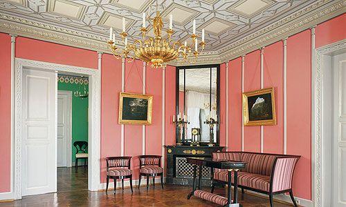 Schloss Rosenau Salon des Herzogs