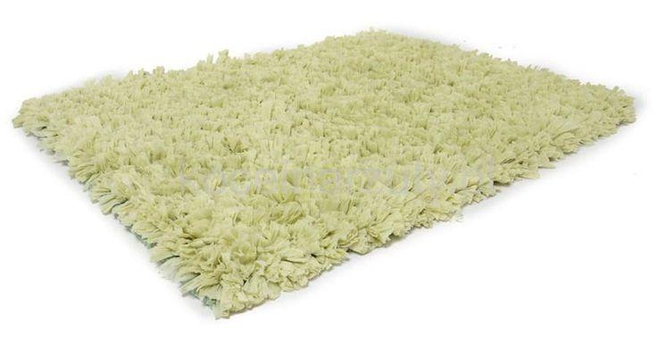 Zielone modne klasyczne dywaniki do łazienki miękkie