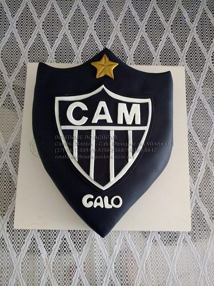 Bolo Decorado Atletico Mineiro