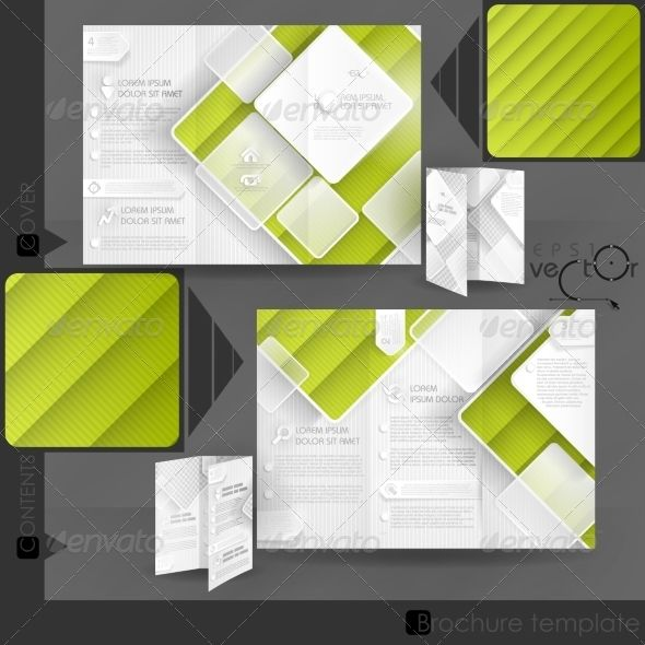 Best Brochure Mockup Template Images On   Brochures