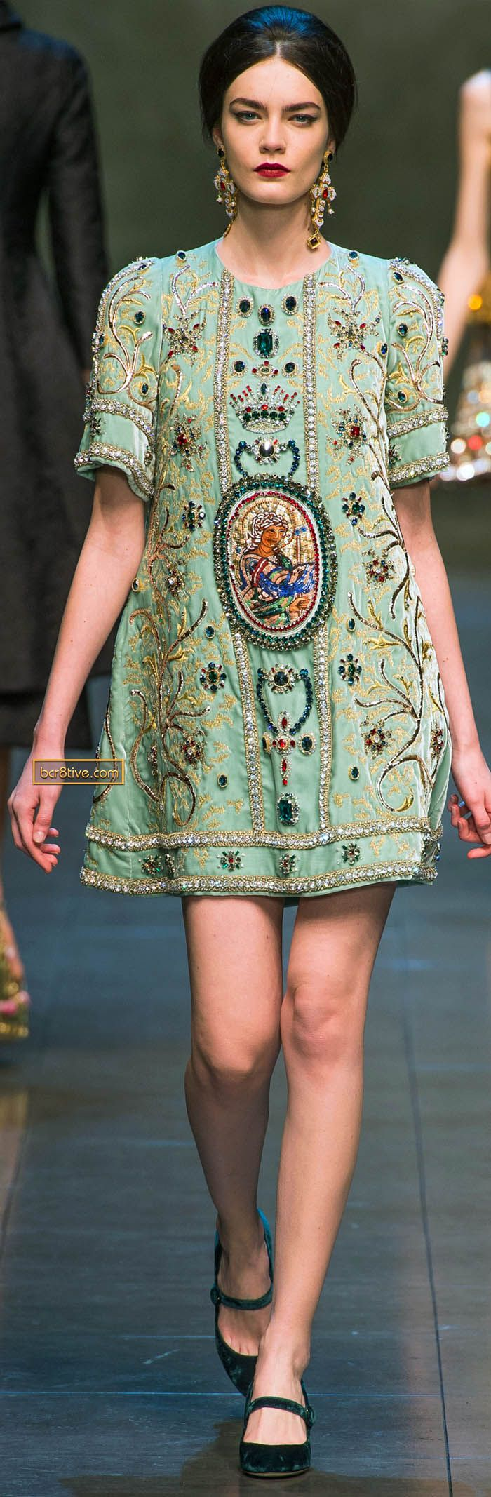 Dolce & Gabanna Fall Winter 2013-14 #embroidery