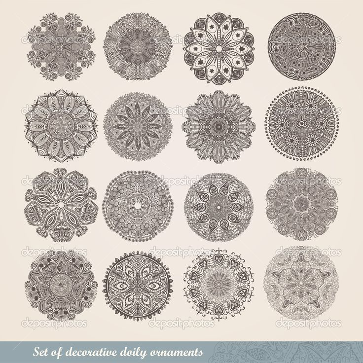 lace circle - Google Search