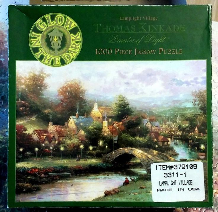 THOMAS KINKADE Painter Light 1000 jigsaw Puzzle