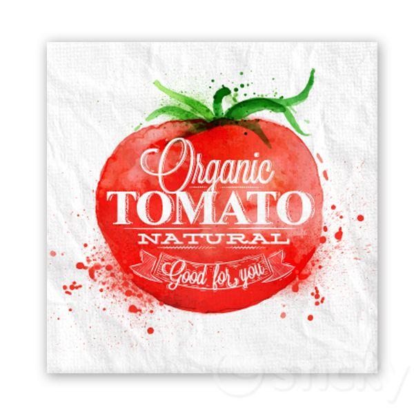 Canvas print TOMATO by Sticky!!!