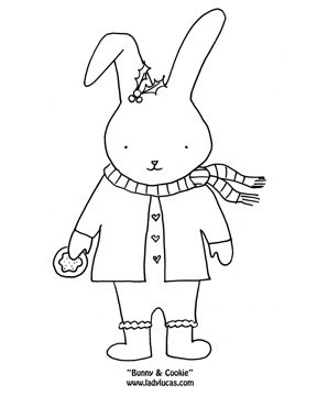 Winter Animals Coloring Pages
