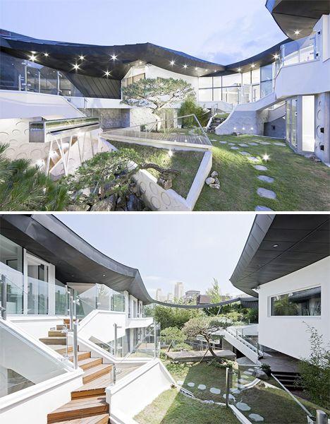 Modern day secret backyard house characteristics private for Contemporary house characteristics