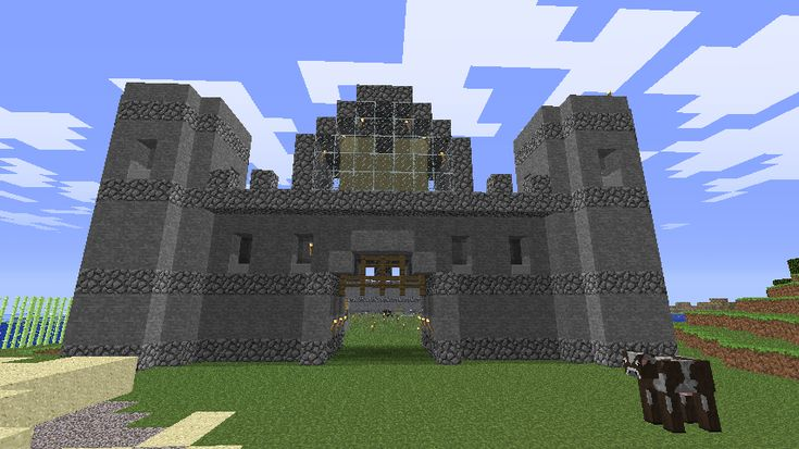 Minecraft simple town buildings
