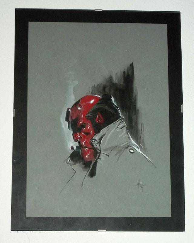 Hellboy di Gabriele Dell'Otto