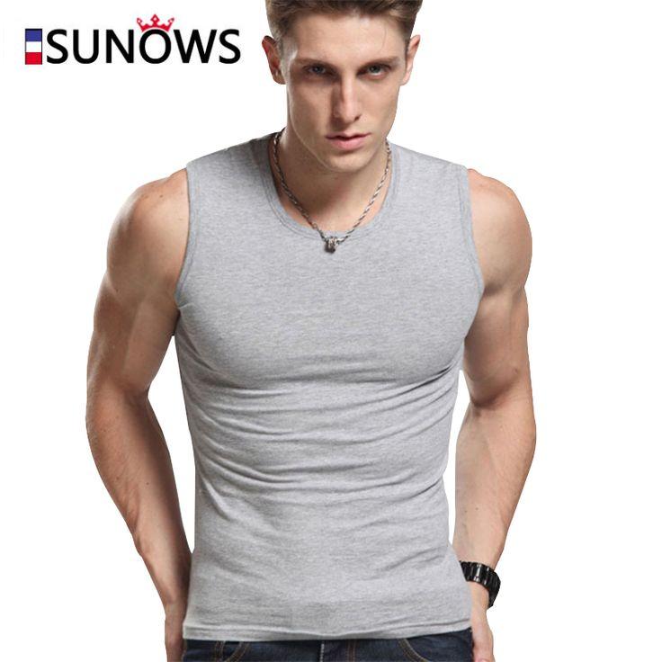 Mannen Tank Tops Fashion 100% Katoen Merk Mouwloze Hemdjes Voor Mannelijke Bodybuilding Tank Tops Wit Casual Zomer Vest m01