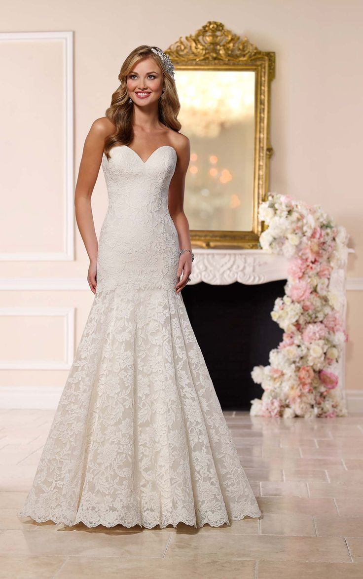 126 best Wedding Dresses images on Pinterest | Wedding frocks ...