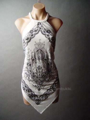 bandana backless shirt  ebay