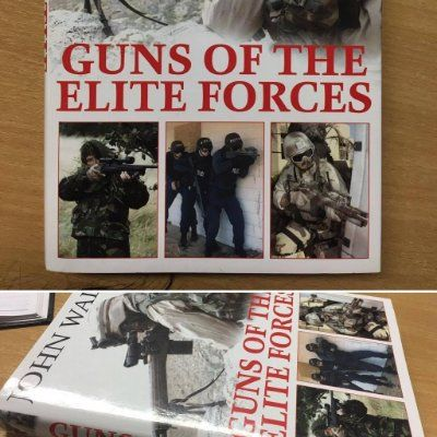 #Books4Friday Guns of the Elite Forces by John Walter http://www.pen-and-sword.co.uk/Guns-of-the-Elite-Fo…/p/11808 (Reprinted by Frontline Books)
