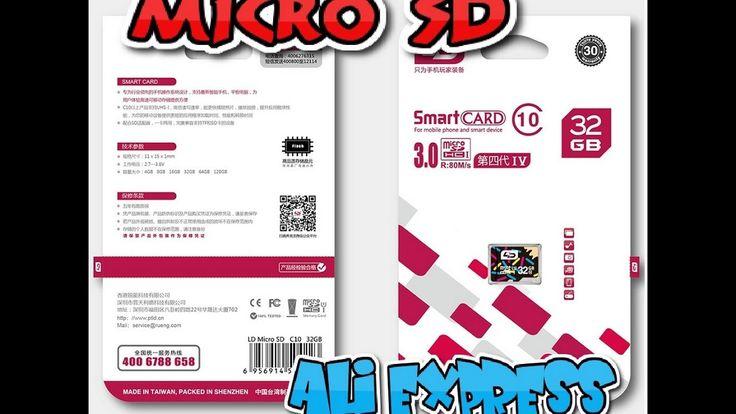 MicroSD! Распаковка посылки из КИТАЯ! AliExpress.