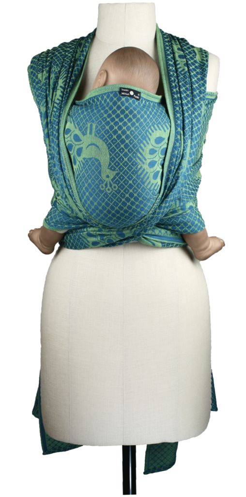 For summer! Didymos Pfau Aqua or emerald green!