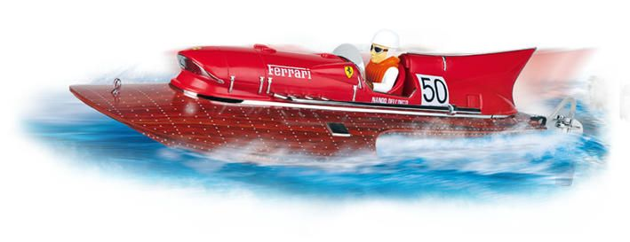 Carrera RC - Ferrari Boot Arno XI - Carrera RC - Ferrari Boot Arno XI Rennbahn
