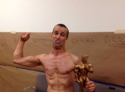 Steve Alexy is an inspiration as he enters a bodybuilding contest at 41-years old despite having cerebral palsy.